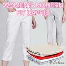 NEW!Branded Womens modern fit capri pants Big Size available 4 colors super comfortable material/ celana panjang wanita celana capri wanita pakaian wanita