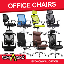 Chair Office Chair at Good price (Singapore seller) Choose self setup and save more!