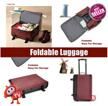 [2016 NEWEST LUGGAGE!!] Foldable Suitcase Trolley * Trolley Bag Suitcase * Foldable Travel Bag * Easy to store when not in use * Durable fabric * Portable suitcase storage * Organizer