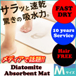 Creative!!! Diatomite Absorbent Mat / Bath Mat/ Dedicated Anti-Skid Pad/ Mouldproof/ Fast-Dry/