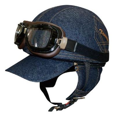 ダムトラックス(DAMMTRAX)BANDITDENIM(バンディットデニム)【バイク用品ヘルメット半帽タイプヘルメット】