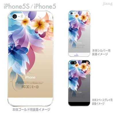 【iPhone5S】【iPhone5】【iPhone5sケース】【iPhone5ケース】【カバー】【スマホケース】【クリアケース】【フラワー】【レトロフラワー】 06-ip5s-ca0106の画像