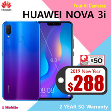Huawei Nova 3i 4GB | 128GB (Black/Purple) 2 Year Huawei Singapore Warranty