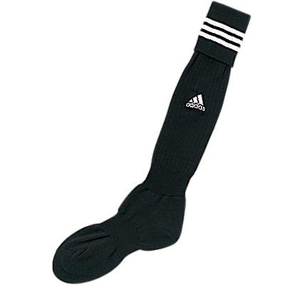 アディダス(adidas) 3ストライプ ゲームソックス TR616 BLK/WHT 【サッカーソックス ストッキング ウェア 靴下】の画像