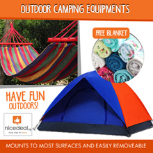 [Free Gift]Outdoor camping stuffs/tent/hammock/Aluminium layer waterproof picnic mats/foldable chair