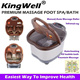 【Massage Foot Spa* Foot bath*3 Models available!】Manual/Auto Massage Roller/Infrared ray/Auto-heating/O2 bubble bath/Fountain Massage