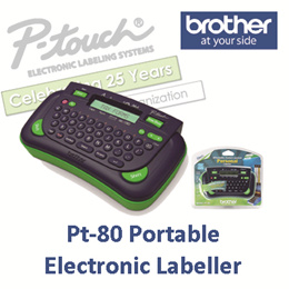 Brother Pt-80 Portable Electronic Labeller