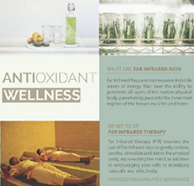 Total Wellness - Far Infrared Therapy+Lymphatic Drainage (90 mins) : Usual $198