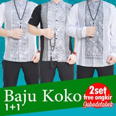 [Buy1Get1] QUINCYLABEL KOKO MUSLIM/MUSLIM FASHION/BEST SELLER/ Busana muslim / baju koko / baju gamis / hijab / jilbab / ramadhan