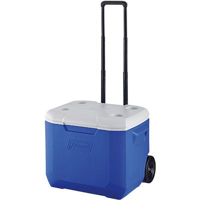 コールマン(Coleman)ホイールクーラー/60QT(ブルー/ホワイト)2000027863【クーラーボックスクーラーバッグ保冷キャンプバーベキュー】
