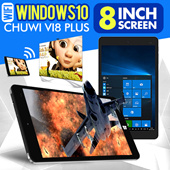 GENUINE! Tablet /  8-inch Display  /Chuwi Vi8 Plus / Windows10 / Quick Transfer / 200MP Camera / 1280 x 800 / HDMI /1.44GHz Quad Core【M18】