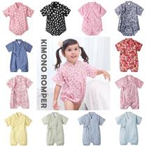 Baby Romper Kimono Romper Baby Clothing Japanese Jinbei Yukata Summer Wearing Groupbuy Sales