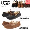 【QRコードカットなし正規品】UGG アグ Dakota/Ansley 女性 ダコタ/アンスレースリッポン ムートン シープスキン