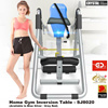Crystal Sport Home Gym Inversion Table - SJ8020 (Available in Blue Silver / Grey Red)