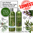 100% AUTHENTIC**[Natures Gate]【PROVEN RESULTS】★REDUCE Hair LOSS ★ITCH-Relief