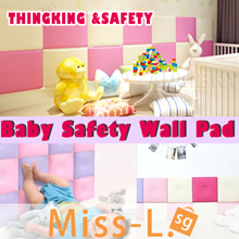 [MISS-L.SG]Baby Wall Pad/ 2 SIZE   /Cushion/Water proof/Baby Safety Wall Round Fence Cushion Protect