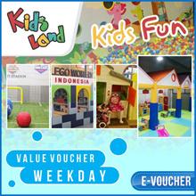 ☆Kids Land Bandung ☆70% Off Tiket Masuk Kids Land Di Bandung weekend/weekday/libur/Mobile voucher on