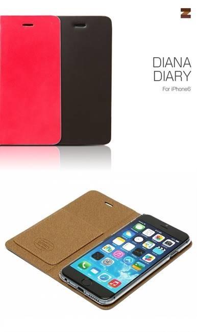 iPhone6カバーアイホン6 アイフォン6ケースiphoneケース アイフォン ブランド iphoneカバーiPhone6用 【iPhone6 4.7インチ 】 ZENUS Diana Diary (ダイアナダイアリー)【メール便送料無料】の画像