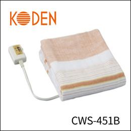 広電 電気毛布(省エネタイプ) 敷毛布 CWS-451B-5■電気毛布 電気敷毛布