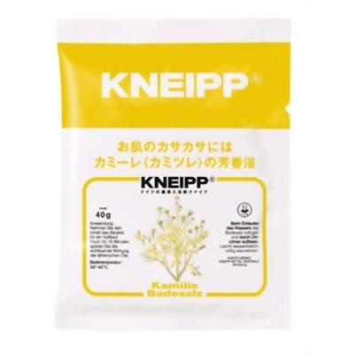 クナイプ KNEIPP バスソルト カミーレの香り 40gクナイプ/KNEIPP/バスソルト/芳香浴/入浴剤/岩塩/精油/ハーブ/カミーレ/カミツレ/40gの画像