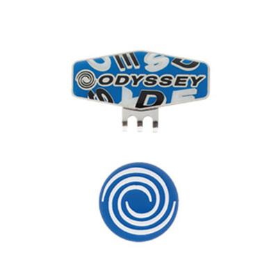 オデッセイ (ODYSSEY) Strew Marker15JM(ストゥルーマーカー)ブルー×ブラック 5915157 [分類:ゴルフ マーカー]の画像
