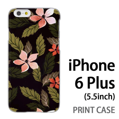 iPhone6 Plus (5.5インチ) 用『0906 木花』特殊印刷ケース【 iphone6 plus iphone アイフォン アイフォン6 プラス au docomo softbank Apple ケース プリント カバー スマホケース スマホカバー 】の画像