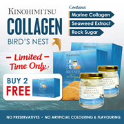 ✦Kinohimitsu Collagen Bird Nest✦  *LIMITED TIME ONLY* SUPERSALE! BUY 2 FREE 1 !! (exp: 09/2019)
