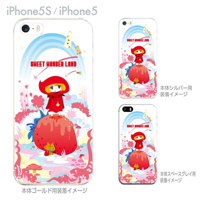 【iPhone5S】【iPhone5】【TORRY DESIGN】【Clear Arts】【iPhone5ケース】【カバー】【スマホケース】【クリアケース】【SWEET WONDER LAND】 27-ip5s-tr0027の画像