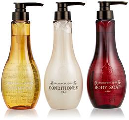 ★BUY $90 FREE SHIPPING★POLA aroma Esse GOLD Shampoo / Conditioner / Body soap 460ml Set!!