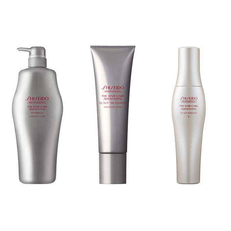SHISEIDO Adenovital – Scalp Shampoo / Treatment / Essence Japan Domestic Version
