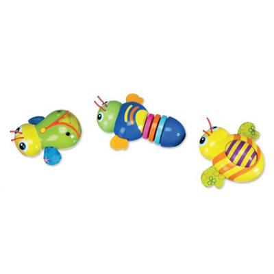ティーレックス マンチキン バリバリ、くるくる、ピッカピッカ おもしろ虫さん バギィーズ 12360509 【ベビー&キッズ おもちゃ・育児サポート おもちゃ(知育具) 転がすおもちゃ】の画像