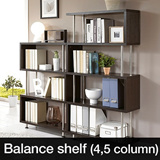 [New Arrival]Balance shelf/Bookcase/Storage Display Shelves/Organizer/Rack/Best Value