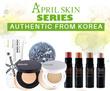 April Skin / Doctorcos ~~ Magic Snow Cushion SPF50 PA++ // Magic Snow Cream // Magic Stone Face Wash // NEW 4D Contour Stick ~~100% Authentic Product~~Local
