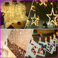 [UUCat] - Led Fairy Light / Led String Light Battery Operated For Party Wedding Deco