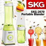 [SKG] SKG-2070 Portable Blender / With 2 Bottles 300ml and 600ml / Only 1 Button Press Required