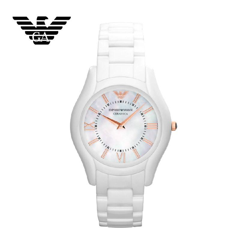 【クリックで詳細表示】EMPORIO ARMANI エンポリオ アルマーニ AR1473 腕時計 レディース用 メンズ用 セラミック ユニセックス 新品 超特価 時計 送料無料 正規輸入品