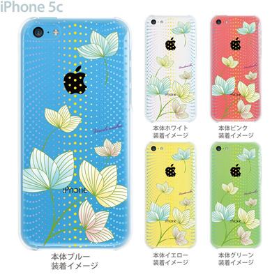 【iPhone5c】【iPhone5cケース】【iPhone5cカバー】【ケース】【カバー】【スマホケース】【クリアケース】【フラワー】【vuodenaika】 21-ip5c-ne0026caの画像