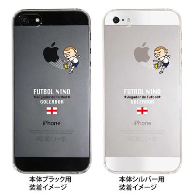 【イングランド】【iPhone5S】【iPhone5】【サッカー】【iPhone5ケース】【iPhone カバー】【スマホケース】【クリアケース】【クリア】【ハードケース】【着せ替え】【イラスト】 ip5-10-f-ca-eg01の画像