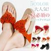 花/コサージュ/トング・ビーチ/スリッパ/サンダル/夏の靴/オープン・シューズ/カジュアルサンダル