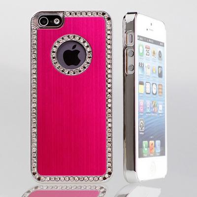 iphone5 ケース ブランド iPhone5カバー デコ かわいい メタルケース 金属 スワロフスキー スマホケース デコケース アイフォン アイフォン5ケース アイフォン5 アイフォンケース/i-Phone/iphone5ケ-ス/アイフォン 5/softbank スマートフォン au 送料無料の画像