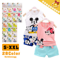 ♡All Flat Price▶Cute n Comfortable Kids Shirts + Shorts Set for Little Girls◀GFA-Little Kids Fashion/ Soft Cotton Material/ Interesting Cartoon Design/ S~XL/ 28 colors available