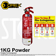 Fire Extinguisher 1KG Outstanding Style and Exceptional Value