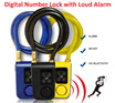 [[[ Anti Theft = Digital Number Lock with Loud Alarm ]]] for bicycle / electric bicycle / motorcycle / scooter / glass door / gate / steel chain wirerope / number lock with alarm
