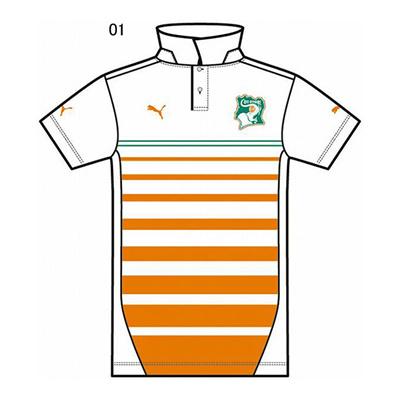 プーマ (PUMA) コートジボアール SS ポロシャツ 744573 [分類:サッカー レプリカウェア (海外代表・海外クラブチーム)] 送料無料の画像