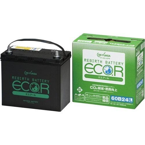 【クリックで詳細表示】GS YUASA [ ジーエスユアサ ] 国産車バッテリー [ ECO.R ] ECT-40B19L