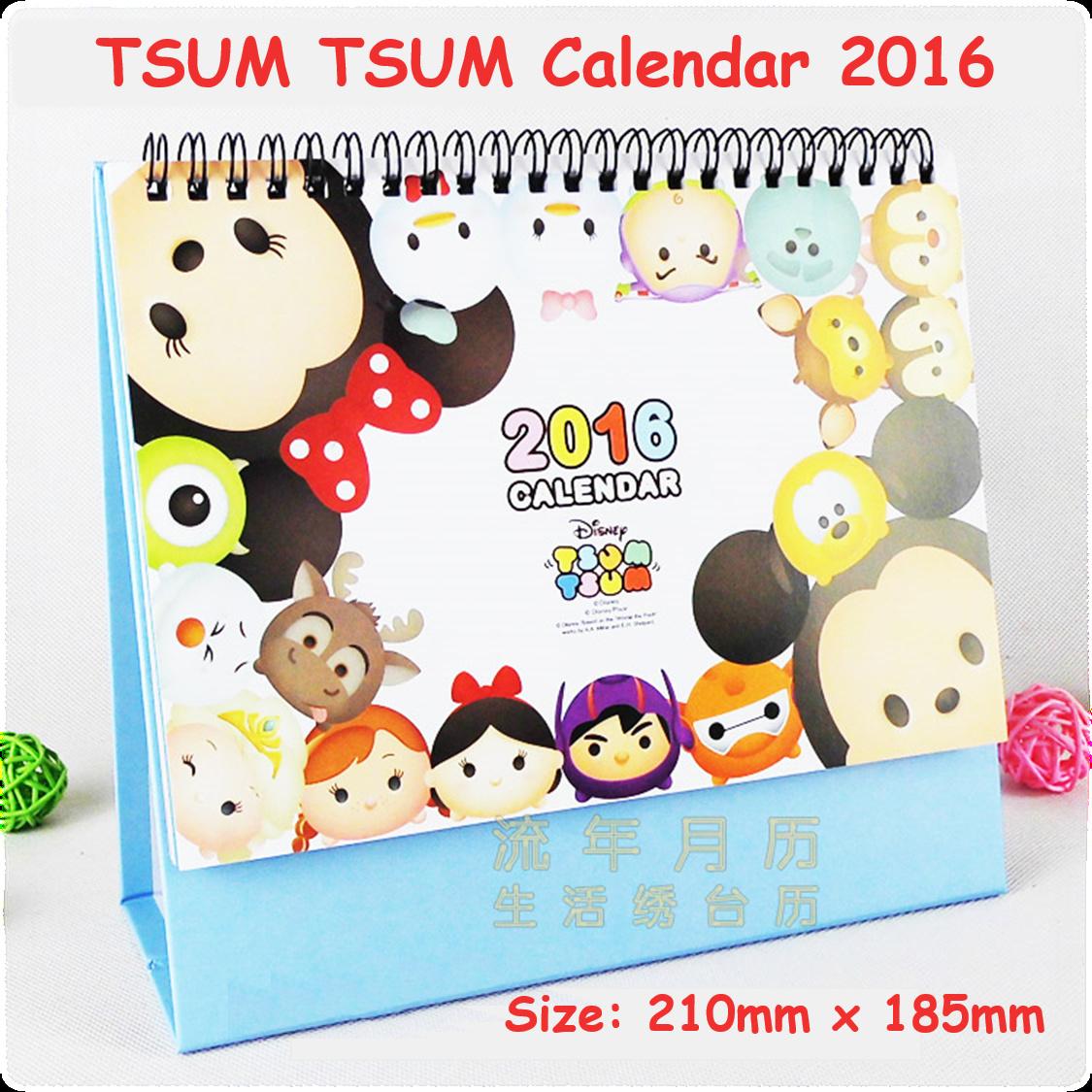 Qoo10 - TSUM TSUM/Disney/Desktop/Calendar 2016/New Year/Gift : Toys