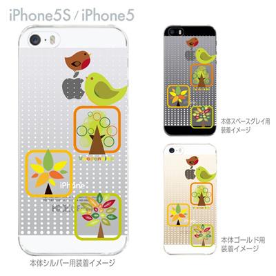 【iPhone5S】【iPhone5】【Vuodenaika】【iPhone5ケース】【カバー】【スマホケース】【クリアケース】【フラワー】 ip5-21-ne0029caの画像