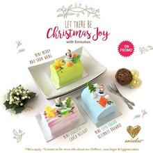 [Emicakes] Christmas Mini Log Cake 250g (3 Flavours)