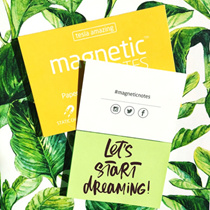 Amazing sticky note - magnetic note/OFFICIAL DISTRIBUTOR /New Age Post It / TESLA AMAZING 100 sheets