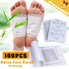 Super Valuable!!! ▶100pcs detox foot patches◀GDD clearing damp/maintain beauty/sleep improvement - Remarkable curative effect for loss sleep